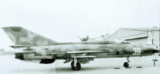 МиГ-21ПФM, Микоян-Гуревич (1981г.)