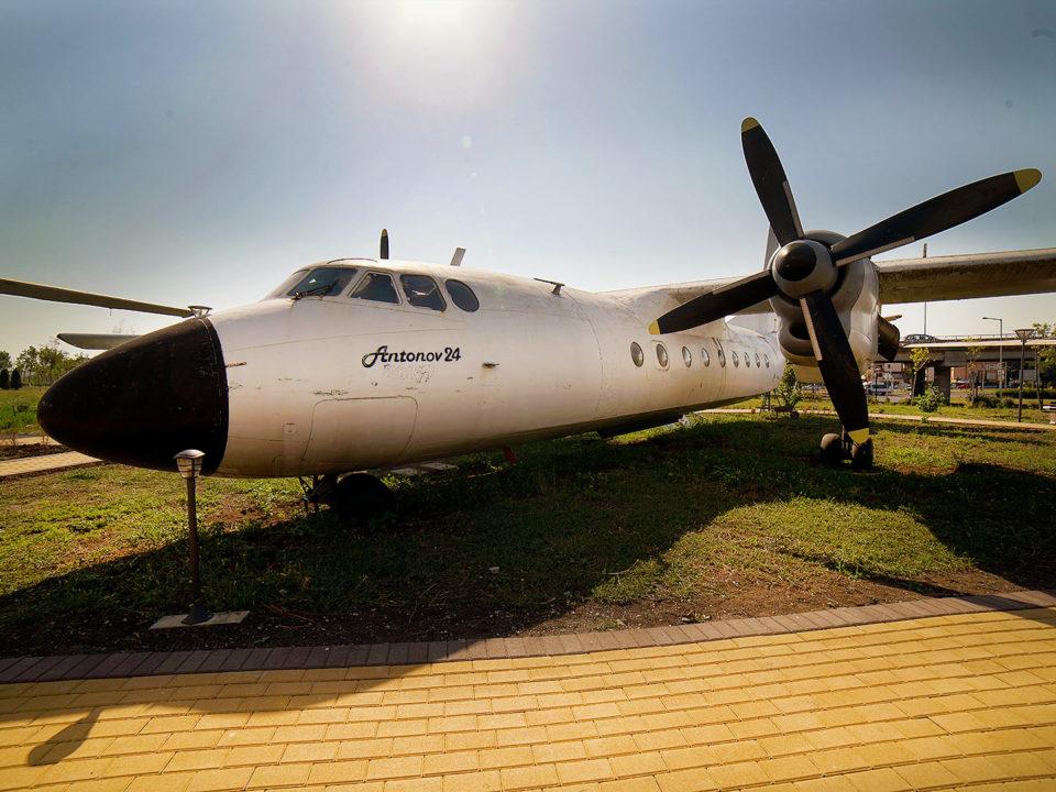 Ан-24 » Експонат » Авиомузей Бургас (2017г.)