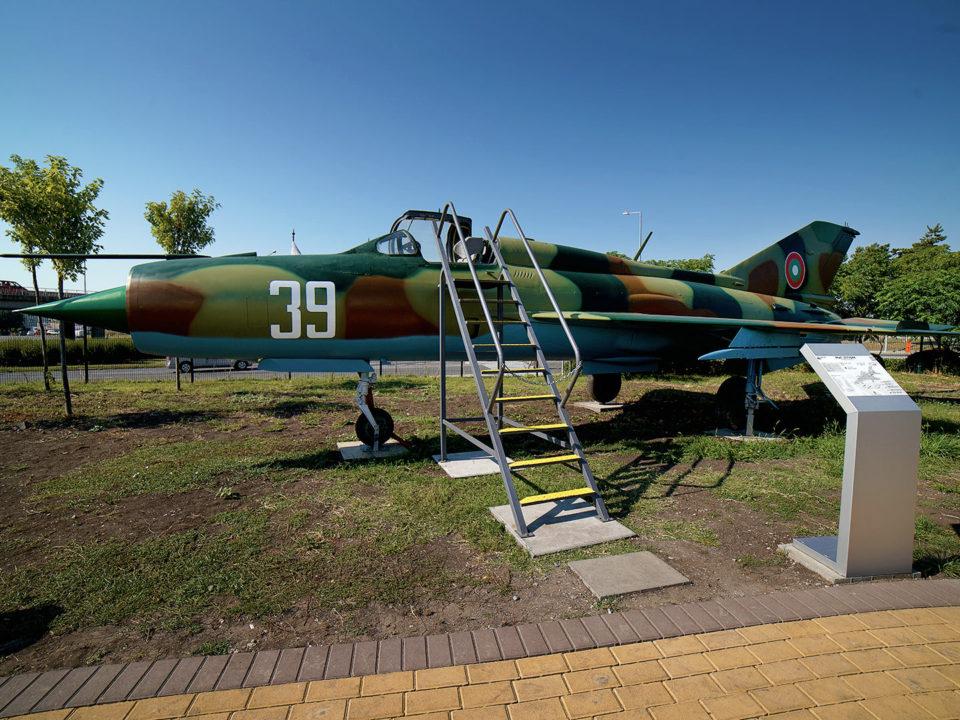 MиГ-21 » Експонат » Авиомузей Бургас (2017г.)