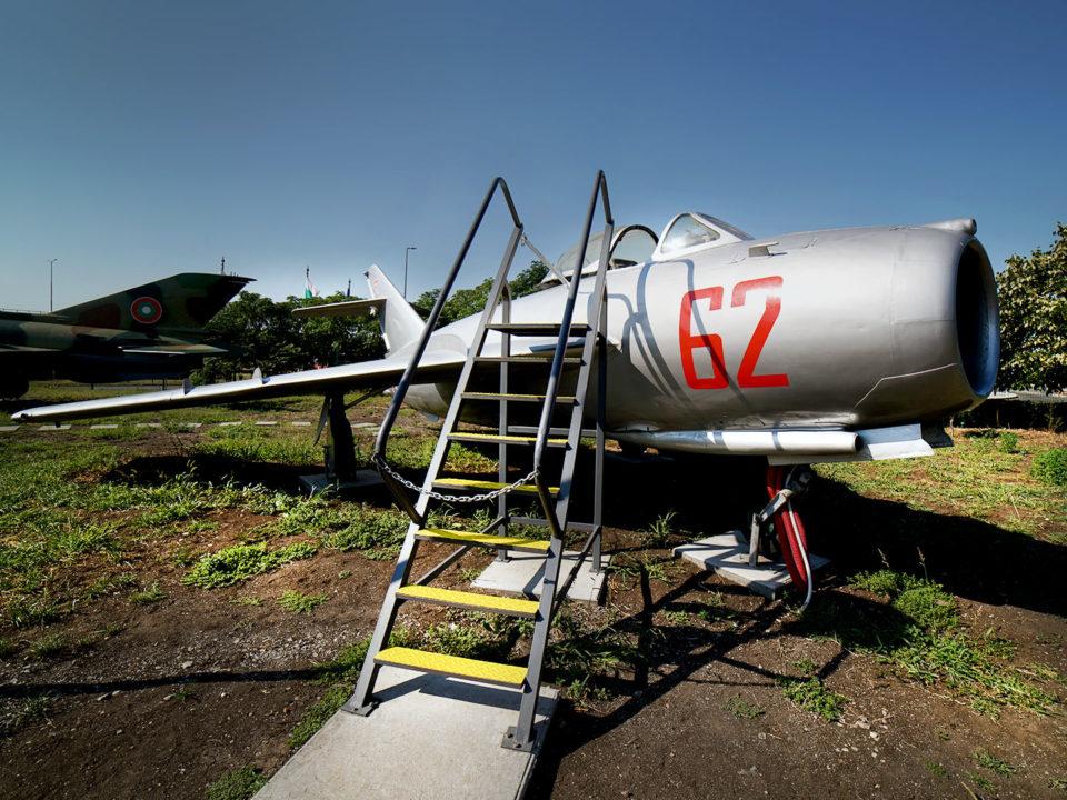 MиГ-17 » Експонат » Авиомузей Бургас (2017г.)
