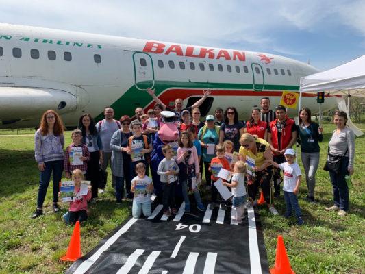 Ден на безопасността в Авиомузей Бургас