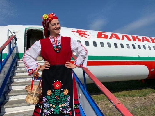 Баба Марта в Авиомузей Бургас