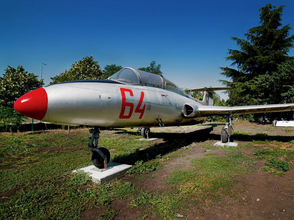 L-29 » Експонат » Авиомузей Бургас (2017г.)